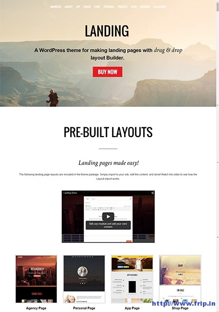 landing-wordpress-theme