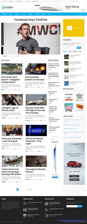 mystery-newspaper-wordpress-theme