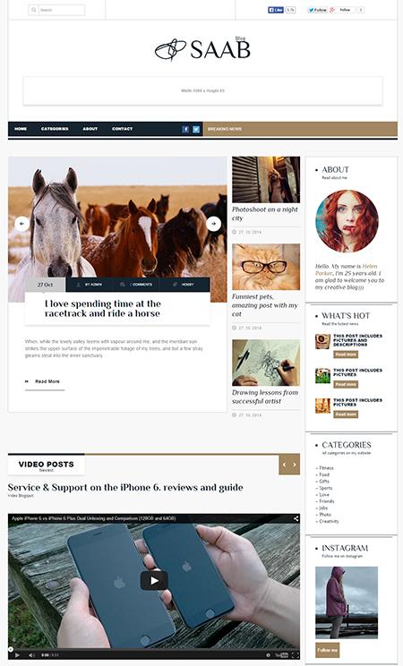 saab-blog-wordpress-theme