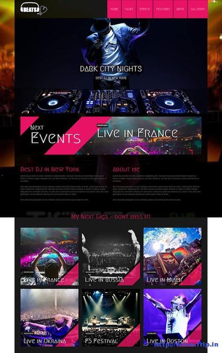 Beats-WordPress-DJ-Theme