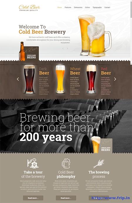 Beer-Joomla-Template