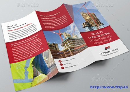 Construction-Trifold-Brochure