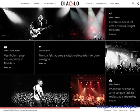 Diablo-Minimal-WordPress-Theme