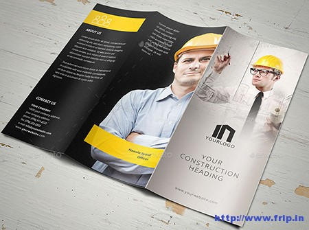 Elegant-Construction-Trifold-Template