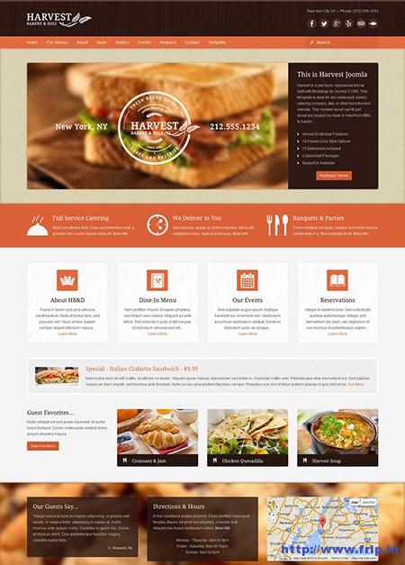 Harvest-Restaurant-&-Food-Joomla-Theme