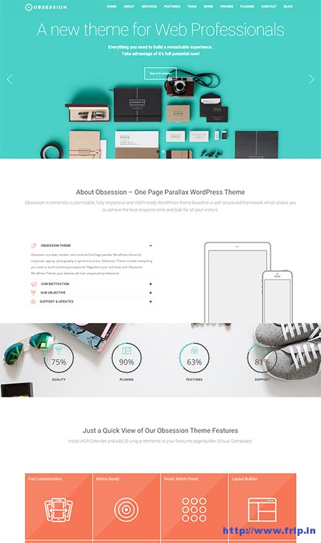 Obsession-Material-Design-WordPress-Theme