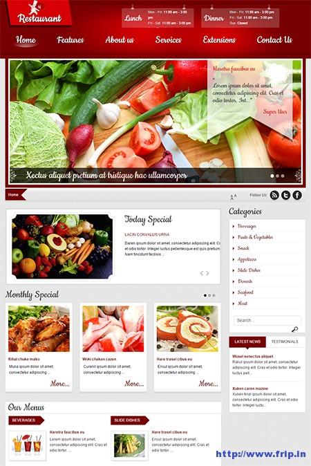 SJ-Restaurant-Design-Template