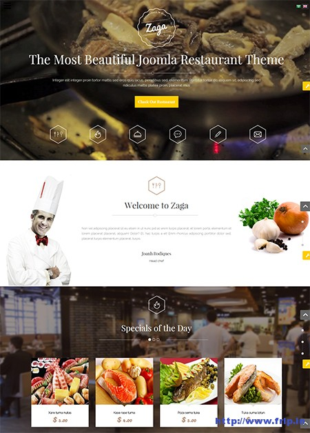 Zaga-One-Page-Restaurant-Template