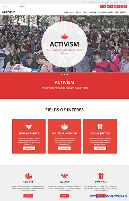 Activism-LayerWP-WordPress-Child-Theme