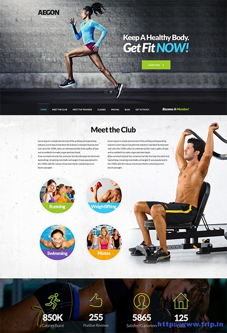 Aegon-Responsive-Gym-WordPress-Theme