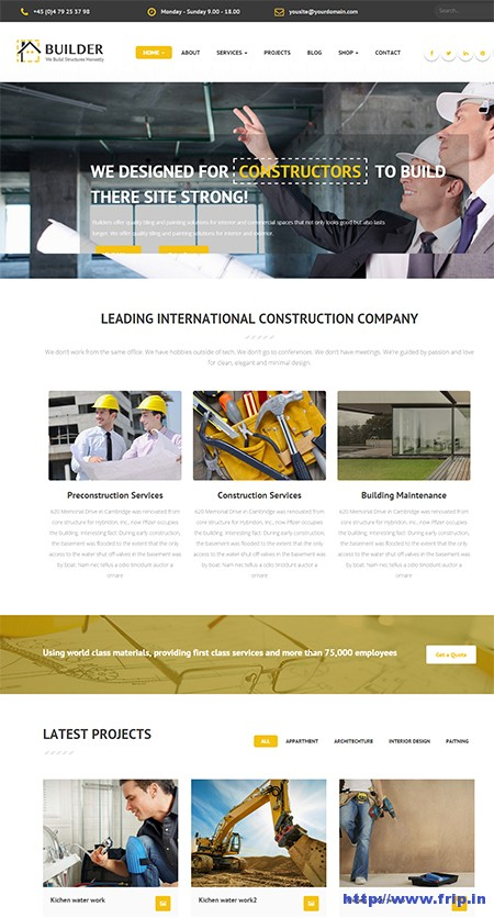 Builder-Construction-WordPress-Theme