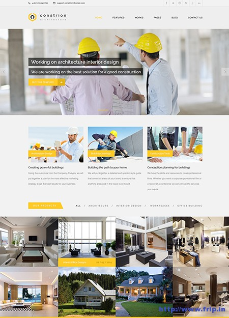 Constrion-Construction-WordPress-Theme