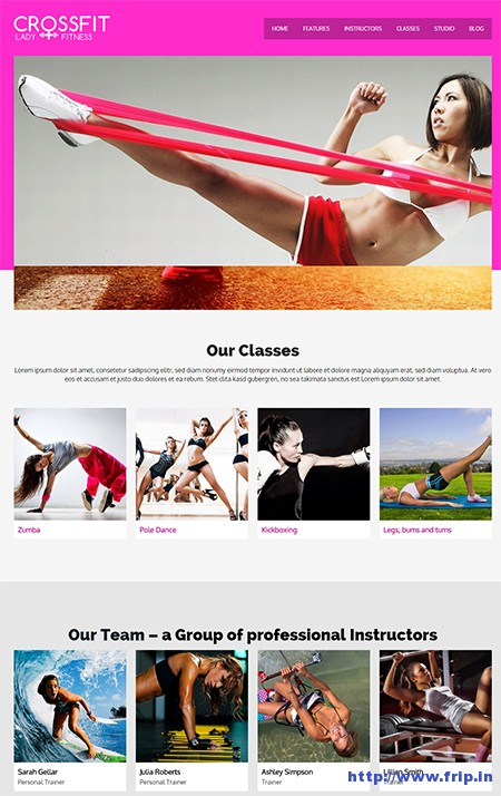Crossfit-WordPress-Gym-Theme