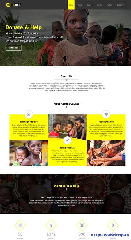 Donate-Nonprofit-WordPress-LayersWP-Theme