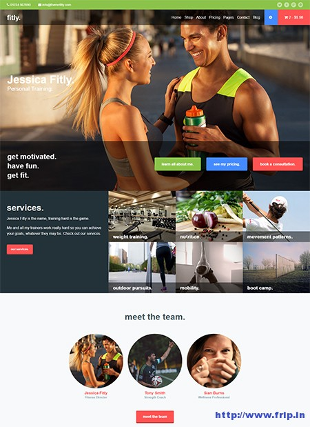 Fitly-Personal-Training-WordPress-Theme