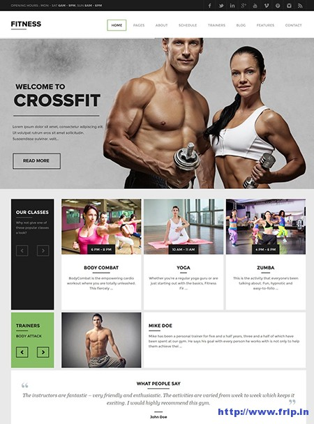 Fitness-Gym-WordPress-Theme
