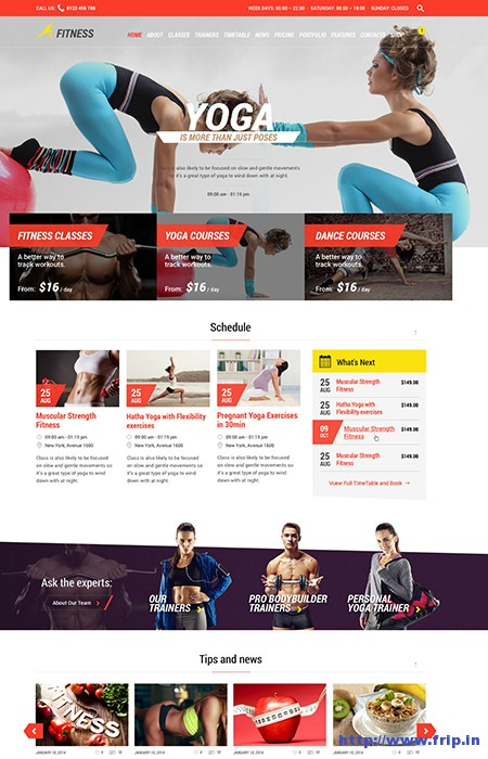 Fitness-Sports-WordPress-Theme