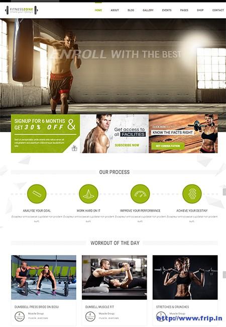 Fitness-Zone-WordPress-Theme