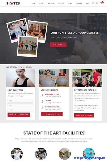 Fitpro-Fitness-Gym-WordPress-Theme