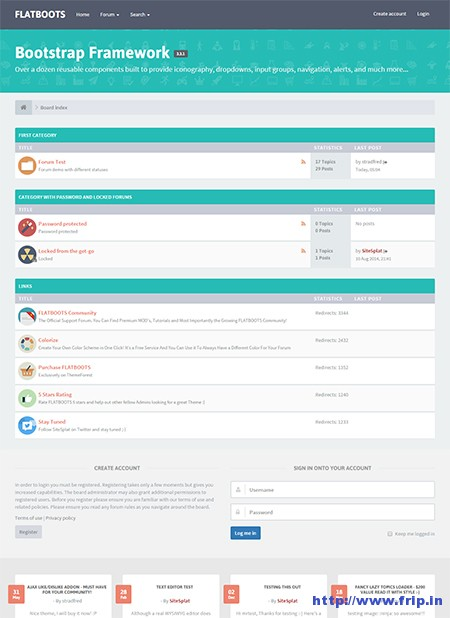 15 Best phpBB And vBulletin Forum Themes 2019 | Frip in