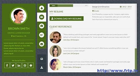 Flexy-vCard-WordPress-Theme