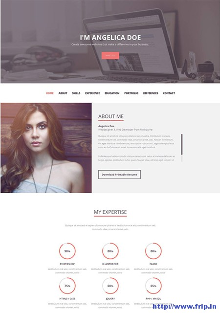 Folix-Resume-Portfolio-WordPress-Theme