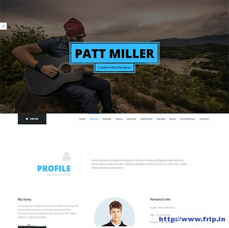 Genio-Resume-WordPress-Theme