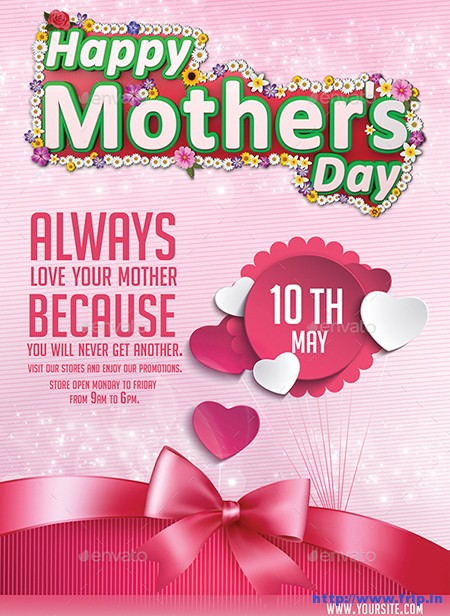 Happy-Mothers-Day-Flyer-Template