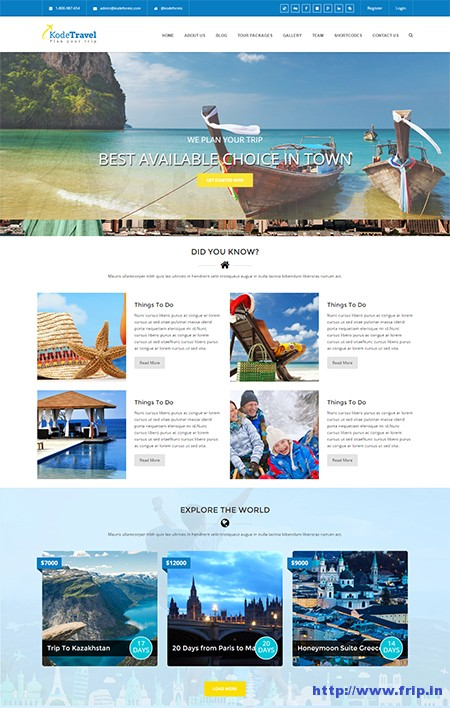 Kode-Travel-&-Tourism-WordPress-Theme