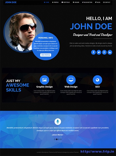 Latern-Resume-&-Portfolio-WordPress-Theme
