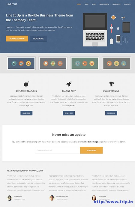 Line-It-Up-2-WordPress-Theme