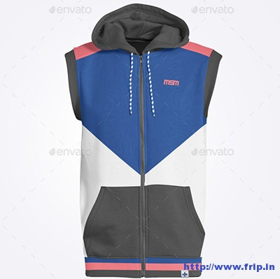 Man-Sleeveless-Hoodie-Mock-Up