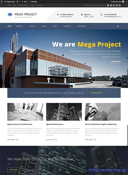 Mega-Project-Construction-Theme