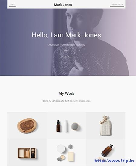 Miresume-Resume-Portfolio-WordPress-Theme