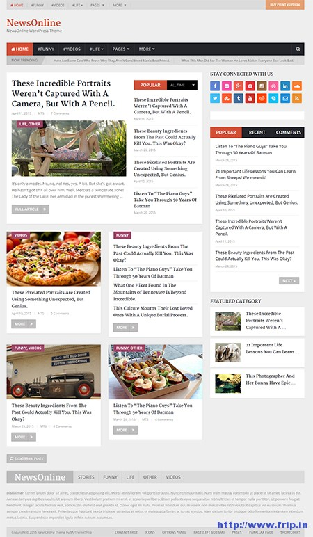 NewsOnline-WordPress-Theme