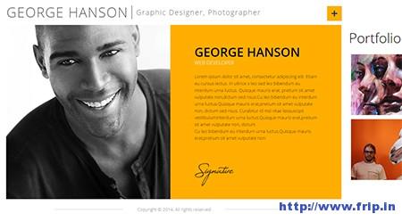 Profession-CV-Resume-WordPress-Theme