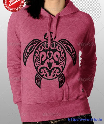 Professional-Women-Hoodie-Mock-Up