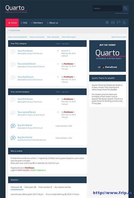 Quarto-phpBB3-Responsive-Theme