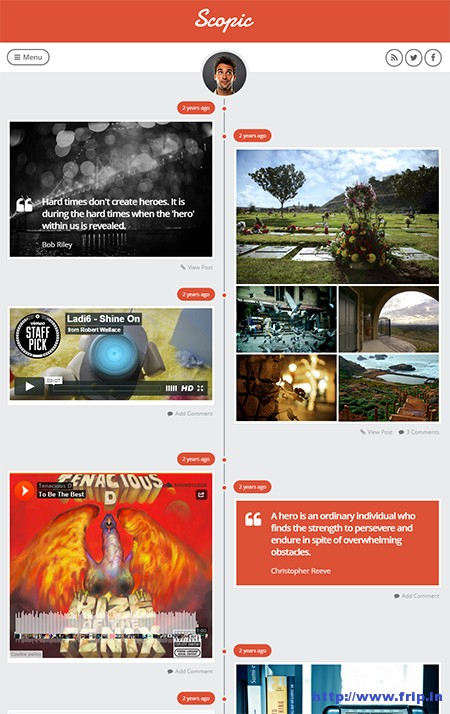 Scopic-Timeline-Tumblog-WordPress-Theme