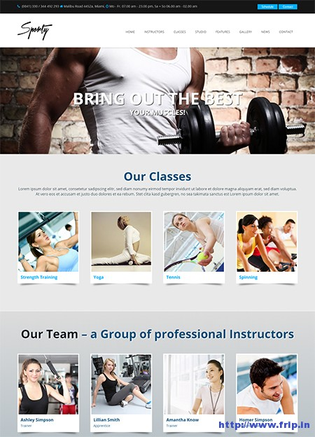 Sporty-WordPress-Gym-Theme