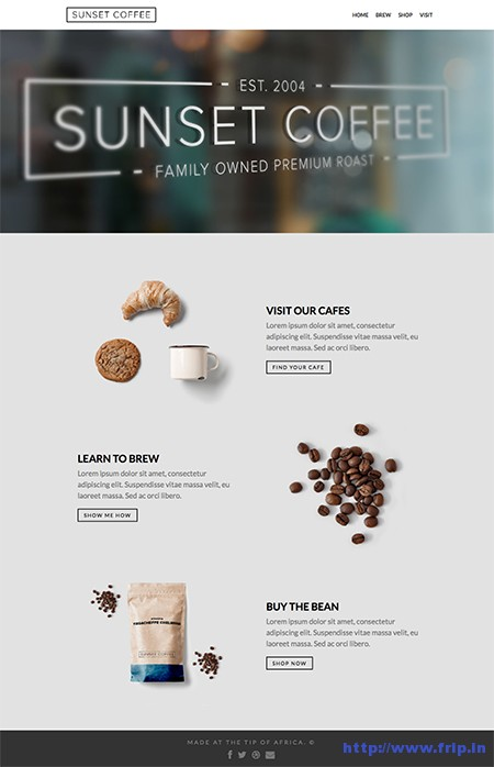 Sunset-Coffee-Layers-WooCommerce-Theme