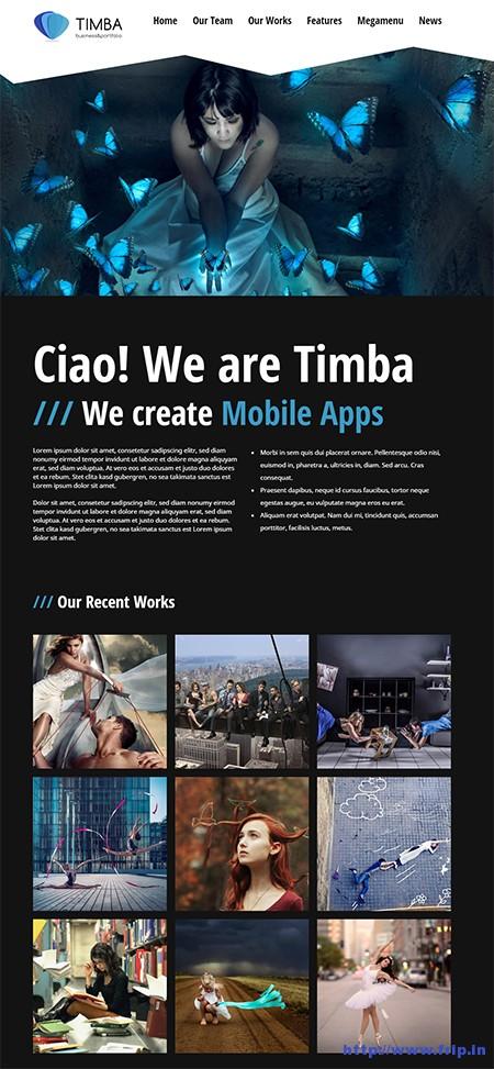 Timba-Unique-Creative-WordPress-Theme