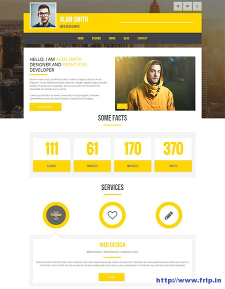 V-King-Personal-Resume-WordPress-Theme