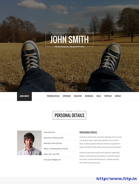 Versus-Resume-WordPress-Theme
