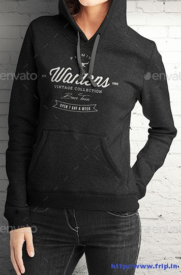 Women-Hoodie-Mock-Up-Template