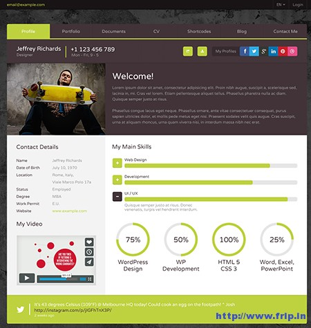 XXL-Multipurpose-WordPress-vCard-Theme