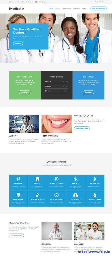 iMedical-Medical-WordPress-Theme