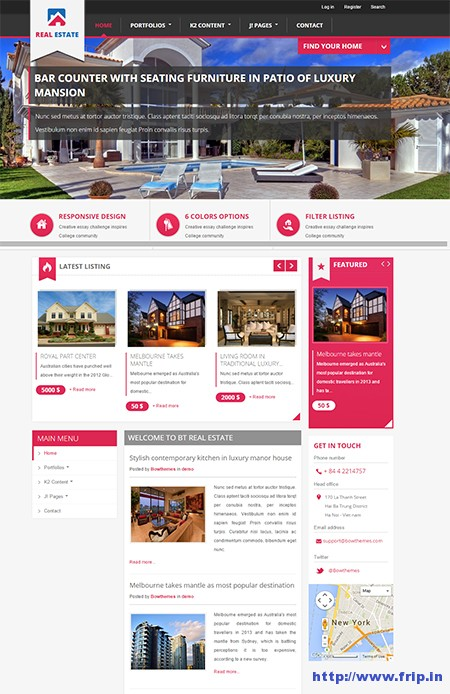 BT-Real-Estate-Joomla-Template