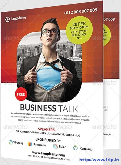 Business-Talk-Flyer-Template