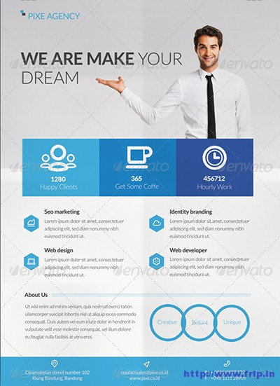 Clean-&-Modern-Corporate-Flyer